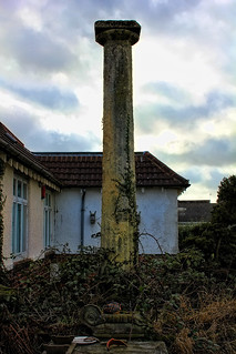 Column in the garden of 194 Creynolds Lane | by Cheswick Green Residents Association
