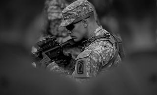173rd Airborne Soldier