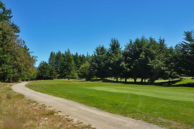 Salt Spring Island Golf & Country Club, Saltspring Island, Gulf Islands, British Columbia.