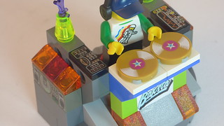 DJ Baxsta & Custom DJ Table Brick Yourself Custom Lego Figure5 | by BrickManDan