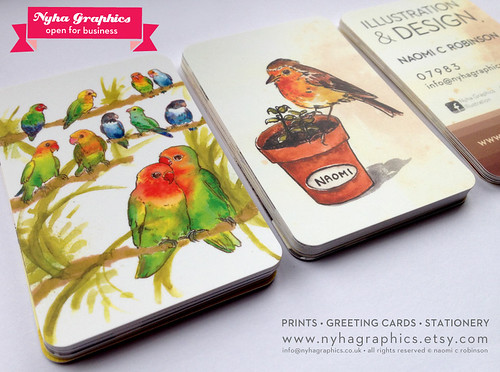 Nyha graphics Business Cards 2014