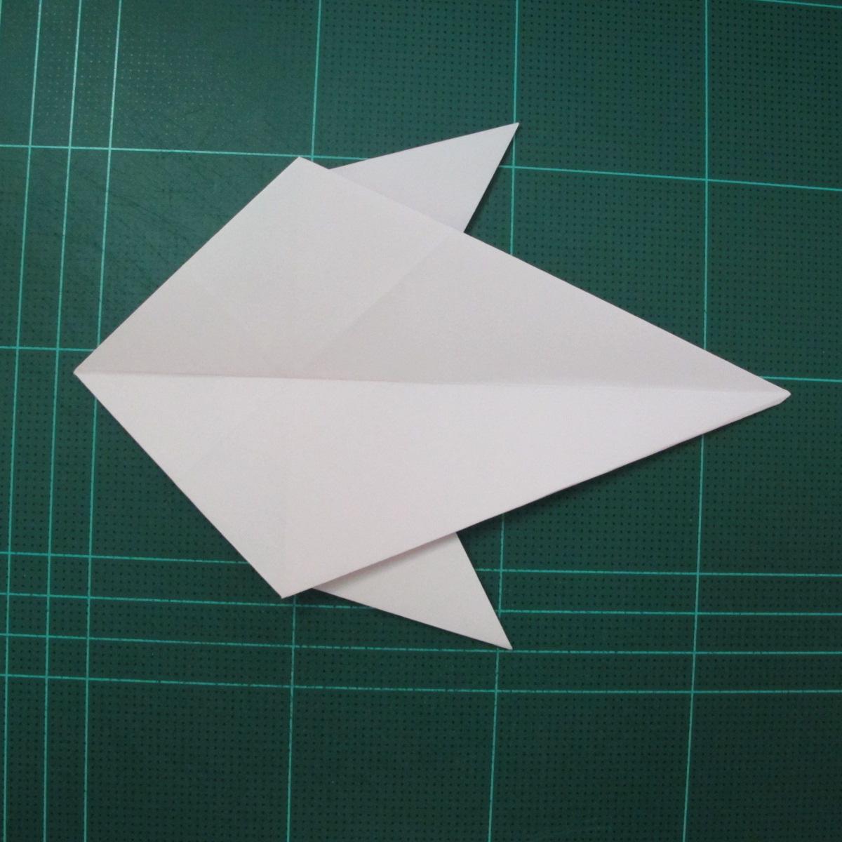 การพับกระดาษเป็นไดโนเสาร์ทีเร็กซ์ (Origami Tyrannosaurus Rex) 025