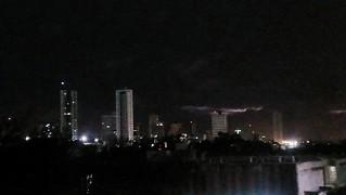 Natal at night from Arena das Dumas