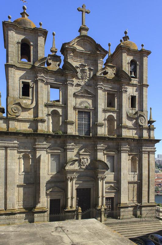 Former Jesuit church of S. Lourenço, Porto, 2014