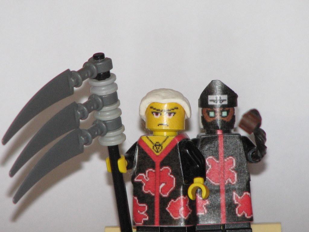 Lego Naruto: Hidan and Kakuzu | Here are my Custom Lego ...