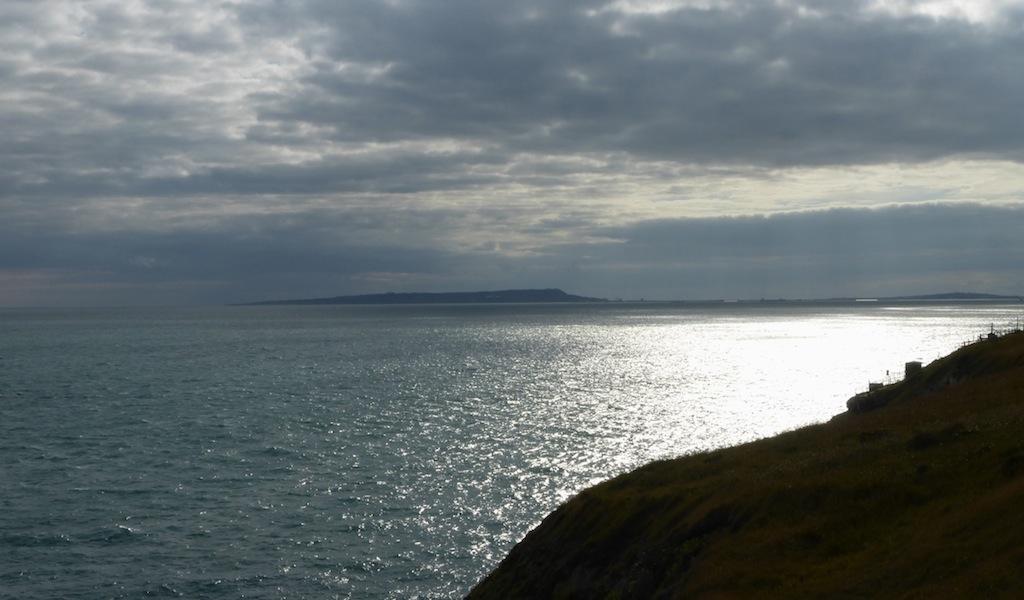 Portland and a silvery sea