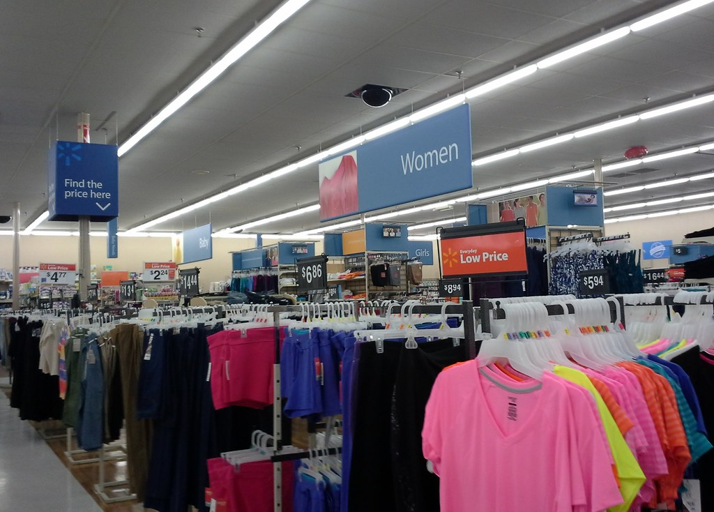5f454e94d94 ... Women's department, and very new looking price scanner sign | by  l_dawg2000