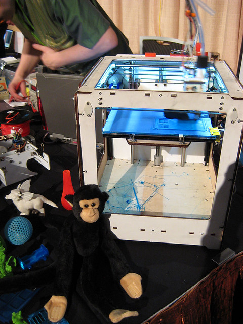 Monkey + Makerbot