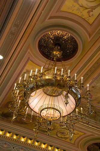 Senate chandelier