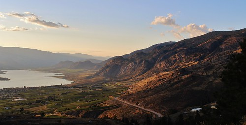 travel blue light sky lake canada mountains green nature grass rock clouds canon rebel landscapes town day view britishcolumbia country peaceful geology tranquil osoyoos t3i osoyooslake 600d crowsnesthighway waltphotos lordwalt kissx5 canonlensefs1855mmf3556isii