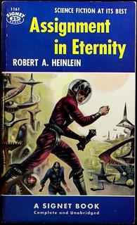 Signet 1161 (Nov., 1954).  Cover Art by Richard Powers