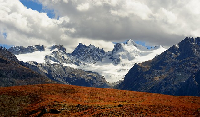 The Mountain Trori Dorje Ziltrom (5.816m), Tibet 2013