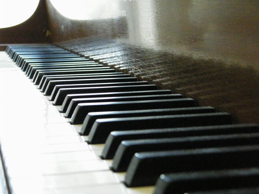 Baby Grand Piano Keys | magicatwork | Flickr