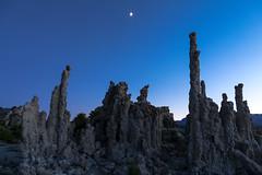 Mono Lake Moonset