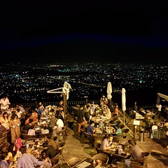 Sehri @ Monal. Took this last week during a short trip to #Islamabad.