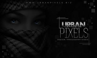 Urban Pixels Bussines Card FRONT (MDesign) | by Matthew DESIGN (M-Design)