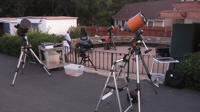 IMG_3181 SBAU star party telescopes