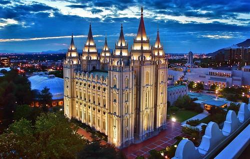 Salt Lake Temple at blue hour | by Manish Prabhune