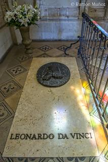 Dsc8549 Tumba De Leonardo Da Vinci En La Capilla De Saint Flickr