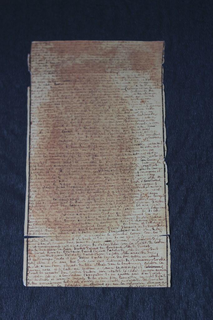Manuscrit autographe des 120 journées de Sodome, Marquis de Sade