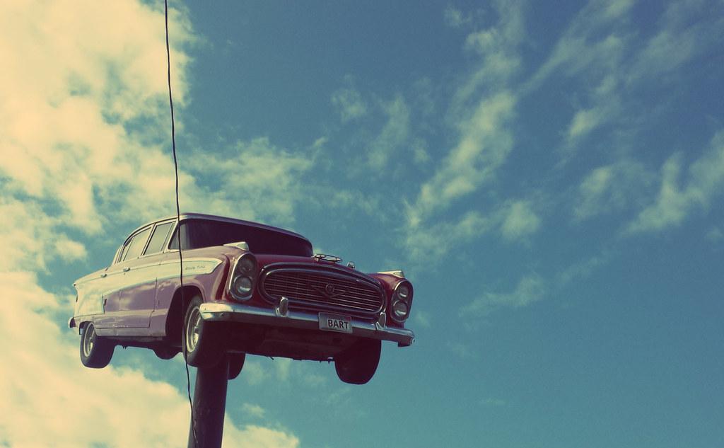 1957 Nash Ambassador Classic on a stick