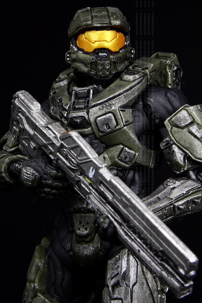 HALO 4 Spartan Petty Officer Master Chief John 117 and AI … | Flickr