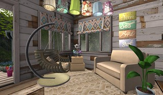 The Cookie Jar 4th Birthday Gifts: Summer Hang out area | by Hidden Gems in Second Life (Interior Designer)