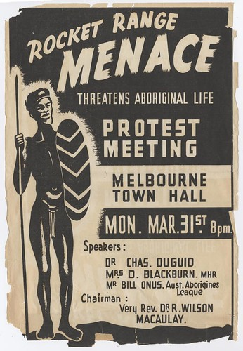 Rocket Range menace threatens Aboriginal life, 1947