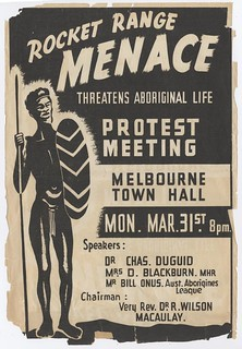 Rocket Range menace threatens Aboriginal life, 1947