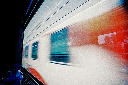 Train blur | by Stephen Dowling