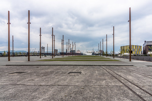 TITANIC BELFAST - A CRUISE SHIP AT THE BIRTHPLACE OF THE TITANIC | by infomatique