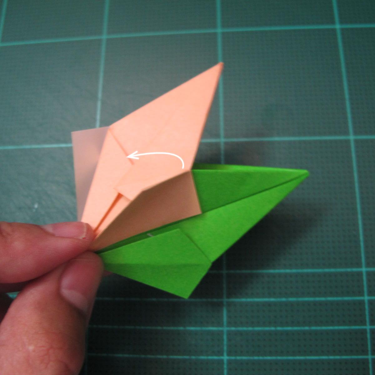 การพับกระดาษแบบโมดูล่าเป็นดาวสปาราซิส (Modular Origami Sparaxis Star) 018