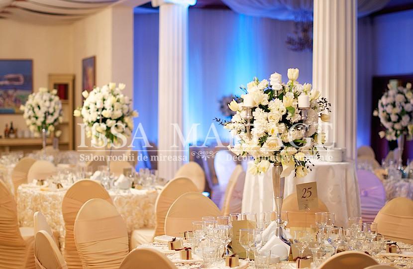 Marriott Decor Sala Nunta Cu Aranjamente Florale Din Trand Flickr
