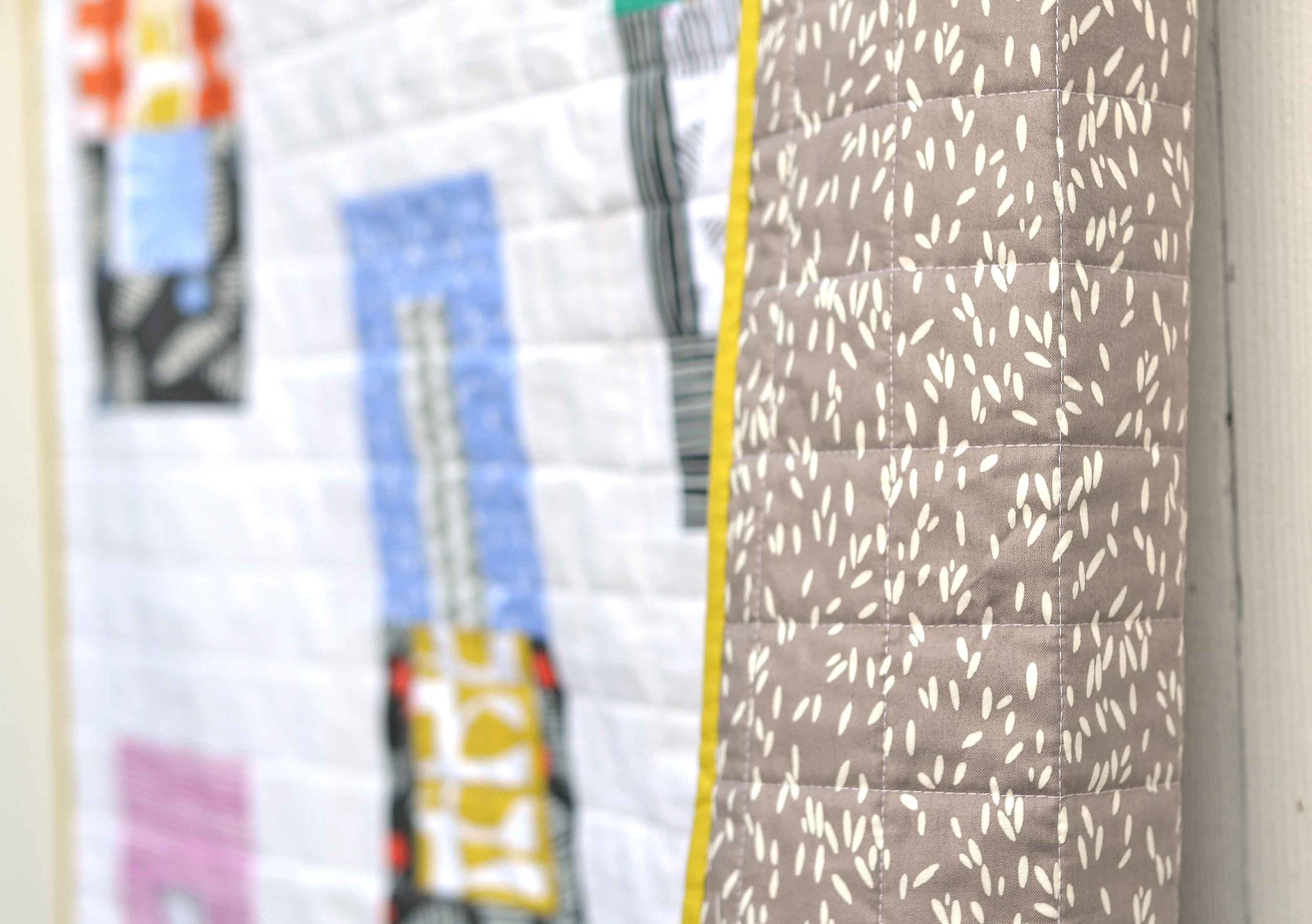 Follie Quilt Backing
