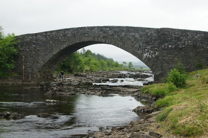 3.Et. Tyndrum - Bridge of Orchy - Inveroran Hotel