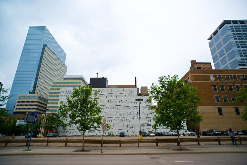 Trees at 10th St. & Marquette Avenue: Minneapolis, Minnesota 2014