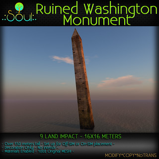 2014 Ruined Washington Monument | by .:Charlie:. of .:Soul:.