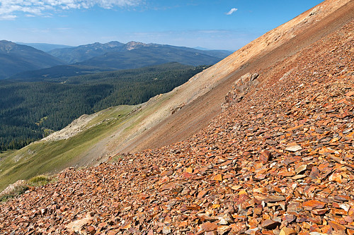 mountains forest colorado hiking places scree sanjuanmountains talus crossmountain telescopemountain anchormountain elliottmountain