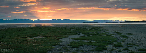 vacation panorama canada sunrise landscape britishcolumbia parksville rathtrevor