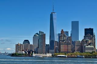 Manhattan skyline (from The Staten Island Ferry) | by Bokeh & Travel