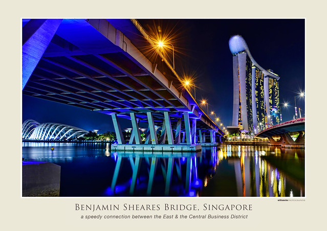 Benjamin Sheares Bridge, Singapore