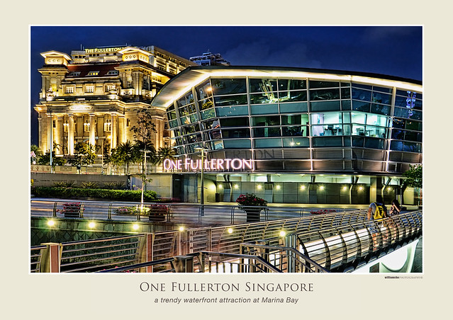 One Fullerton at the Waterfront, Marina Bay Singapore