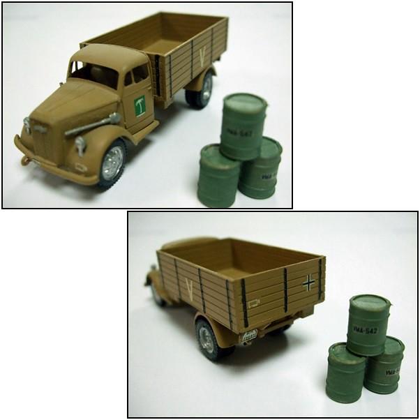 German Truck LKW.3 Ton. OPEL BLITZ - ESCI