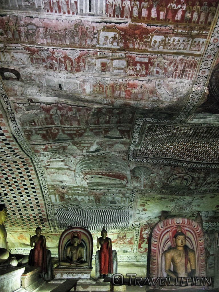 Maha Alut Viharaya Cave, Dambulla Cave Temples