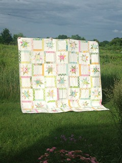 Nicey Jane Hopscotch quilt