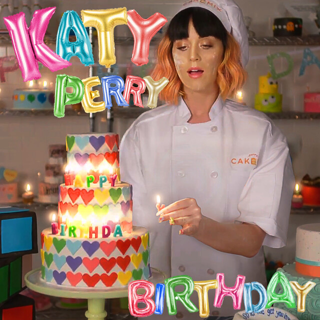 Marvelous Katy Perry Birthday Wanted Something Official Looking An Flickr Personalised Birthday Cards Veneteletsinfo