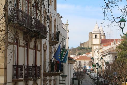 street castle heritage portugal village oldtown