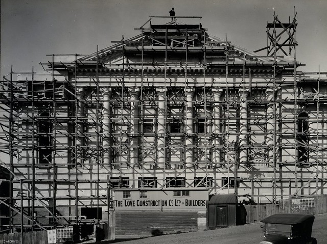 Town Hall - Construction c1928