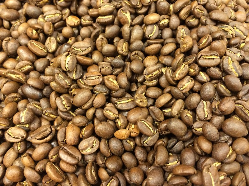 Coffee beans - roasted