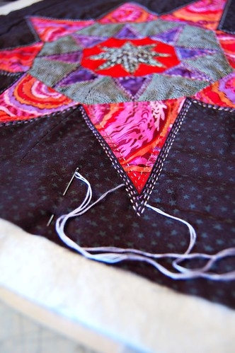 Anna's Star Hand Quilting | by Sarah.WV
